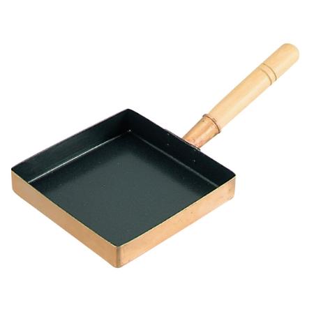 EBM銅玉子焼関東型(フッ素樹脂加工)21cm