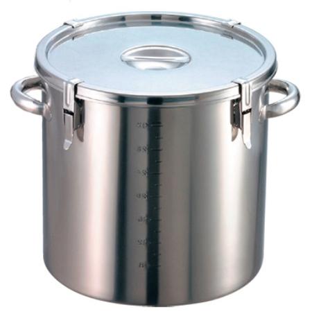 EBM18-8パッキン寸胴鍋(目盛付)36cm手付