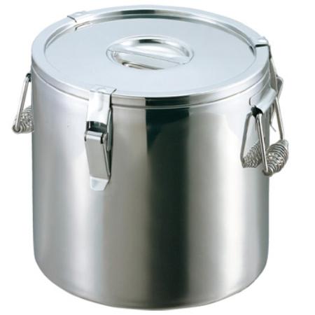 EBMステンレス二重保温食缶38cm