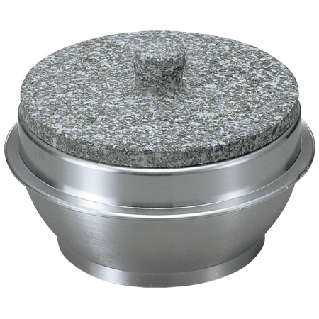 長水 遠赤 石焼釜(石蓋付)アルミ枠付 15cm