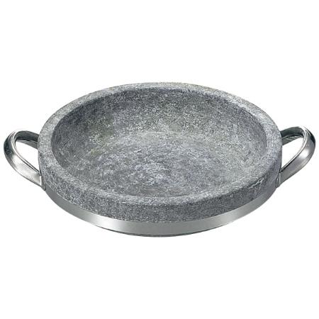 長水遠赤石焼海鮮鍋ハンドル付28cm