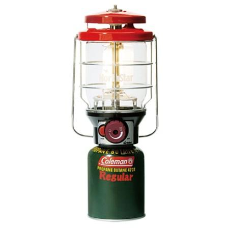 2500ノーススターLPガスランタン(レッド) 2000015521【コールマン LPガス ランタン ライト 照明 アウトドア キャンプ】