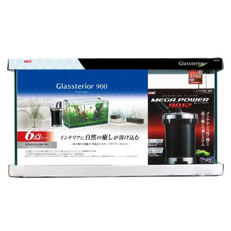 グラステリア9006点セット【ジェックスペットアクア水槽】