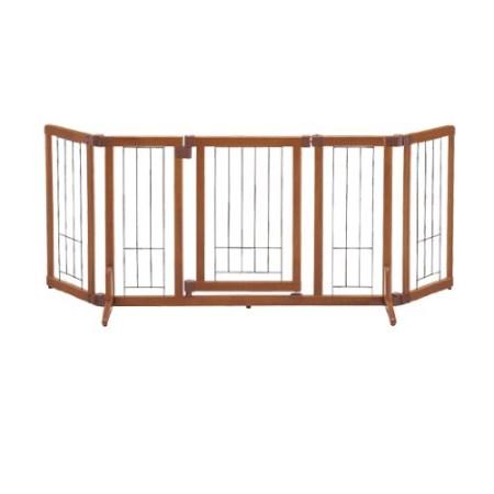 ペット用 木製おくだけドア付ゲート M ブラウン ゲート【リッチェル ペット M ゲート ペット用 フェンス】, 質みなみ:82c1e7ba --- knbufm.com
