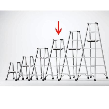 長谷川工業 軽量専用脚立 脚軽 RZL1.0-15【長谷川工業 作業用品 作業道具 脚立 梯子 はしご ハシゴ】