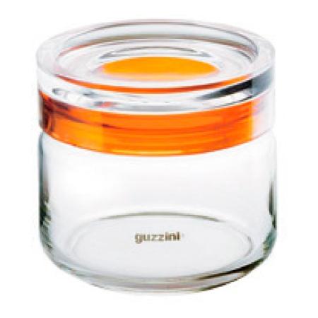 グッチーニ ガラスジャー500 285509 00クリア【guzzini 保存容器 タッパー タッパウェア 密閉容器 密封容器 調理器具 キッチングッズ】