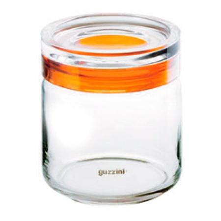 グッチーニ ガラスジャー750 285512 00クリア【guzzini 保存容器 タッパー タッパウェア 密閉容器 密封容器 調理器具 キッチングッズ】