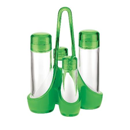 グッチーニ ミラージュ クルエセット 248800 44グリーン【guzzini 調味料 スパイス 調味料ケース 調味料ボトル スパイスラック テーブルウェア】