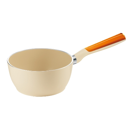 グッチーニ 片手ソースパン20cm 227901 45オレンジ【guzzini 鍋 片手 ソースパン 調理器具】
