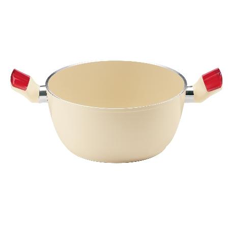 グッチーニ IHシチューポット 227912 65レッド【guzzini 鍋 深型 調理器具 IH】