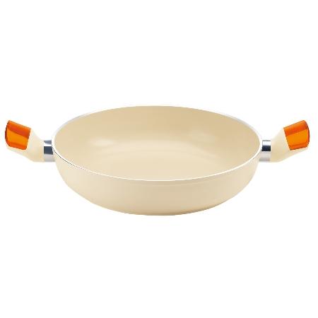 グッチーニ IHキャセロール24cm 228010 45オレンジ【guzzini 鍋 キャセロール 浅型 調理器具 IH】