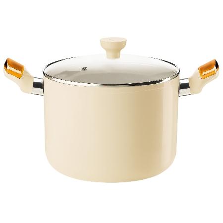 グッチーニ ストックポット 228400 45オレンジ【guzzini 鍋 深型 調理器具】