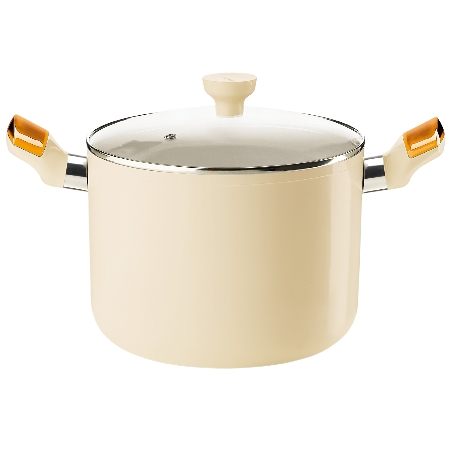 グッチーニ IHストックポット 228410 45オレンジ【guzzini 鍋 深型 調理器具 IH】