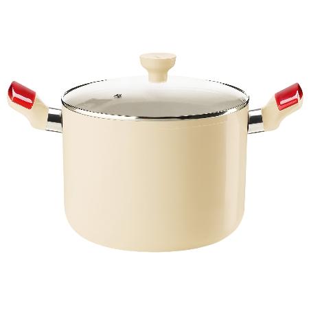 グッチーニ IHストックポット 228410 65レッド【guzzini 鍋 深型 調理器具 IH】