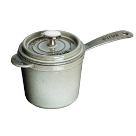 ストウブ ソースパン 18cm グレー 40510-316【ストウブ 鍋 片手鍋 ソースパン 調理器具】