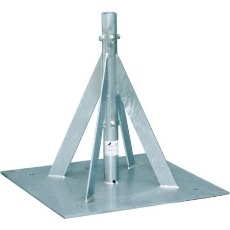 自立形アンテナマストベース(40A用・ステンレス) MHB-50YS【アンテナ 設置金具 金具 MHB-50YS】