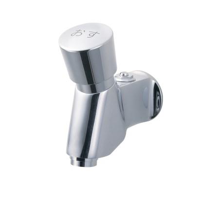 自閉式横水栓 Y196C-13【水栓 金具 配管 水道 蛇口 部品 洗濯機 横水栓】