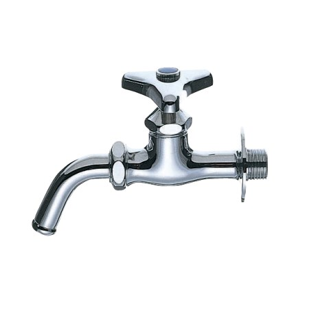 先端のパイプが回転するので使い勝手の良い位置で使用できます 万能ホーム水栓 Y12J-13 水栓 金具 配管 横水栓 引き出物 水道 洗濯機 蛇口 部品 定番