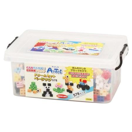 アーテックブロック ドリームセットベーシック(578PCS)(品番:76535)【アーテック おもちゃ 玩具 ブロック】