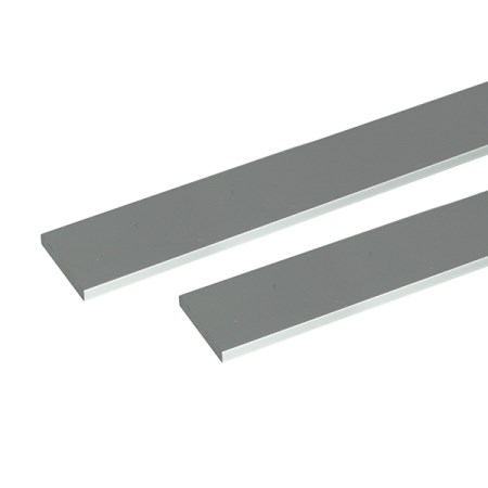 アルミ平棒 2m 6.0×100mm シルバー 2本組【安田株式会社 アルミ 平棒 一般形材】