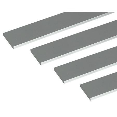 アルミ平棒 1m 5.0×50mm シルバー 4本組【安田株式会社 アルミ 平棒 一般形材】