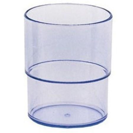 電子レンジ不可 出群 スタッキングコップ 完全送料無料 小森樹脂コップカップ ブルー