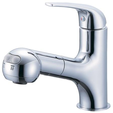 シングルスプレー混合栓(洗髪用) K3703JV-13【三栄水栓 SANEI K3703JV-13 水道用品 混合栓 洗面用】