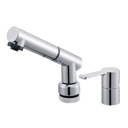 シングルスプレー混合栓 K37510JKZ-13【三栄水栓 SANEI K37510JKZ-13 水道用品 混合栓 洗面用】