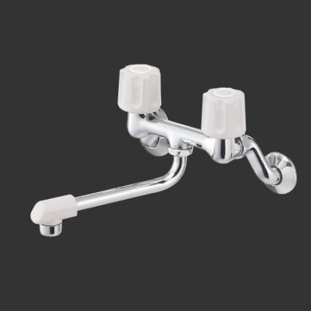 ツーバルブ混合栓(寒冷地用) K11DK-LH-13【三栄水栓 SANEI K11DK-LH-13 水道用品 混合栓 台所用】