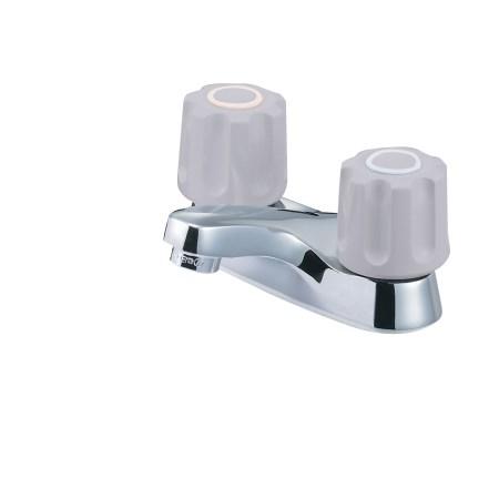 ツーバルブ洗面混合栓 K511NP-LH-13【三栄水栓 SANEI K511NP-LH-13 水道用品 混合栓 洗面用】
