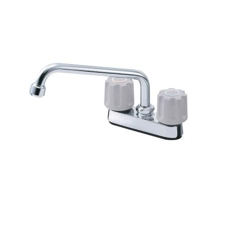 ツーバルブ台付混合栓 K711-LH-13【三栄水栓 SANEI K711-LH-13 水道用品 混合栓 風呂用】
