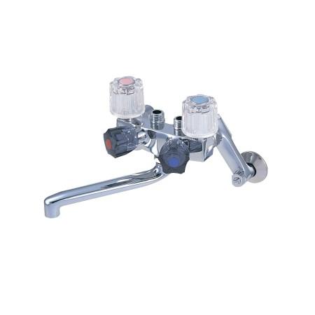 ソーラ4バルブ混合栓 K161-13【三栄水栓 SANEI K161-13 水道用品 混合栓 風呂用】