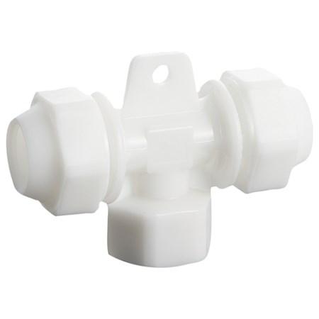 軽くてしなやかなエアー配管です ライトエアーメスチーズ 激安セール 白 SAIRWT20-1 2FT 電動工具 上質 エアーツール 配管継ぎ手 ねじ 藤原産業