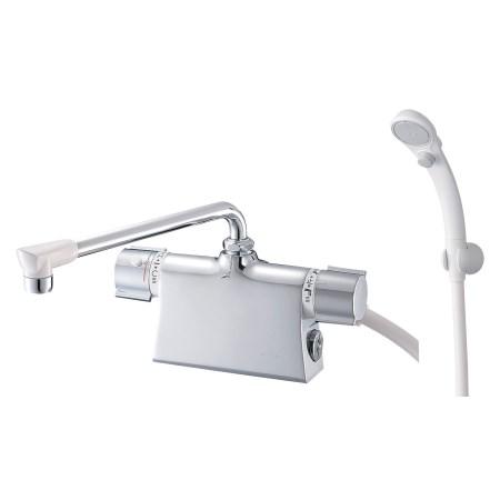サーモデッキシャワー混合栓 SK785D-L-13【三栄水栓 SANEI SK785D-L-13 水道用品 混合栓風呂用】