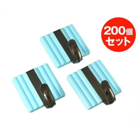 スッポンフック カク 200個 ブルー s11b200【大一鋼業 インテリア フック 熱着フック s11b200 】