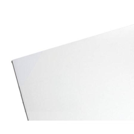 ユニサンデー EB1893-5 白 EB18935【光 素材 プラスチック板 塩ビ板(エンビ板) EB18935】