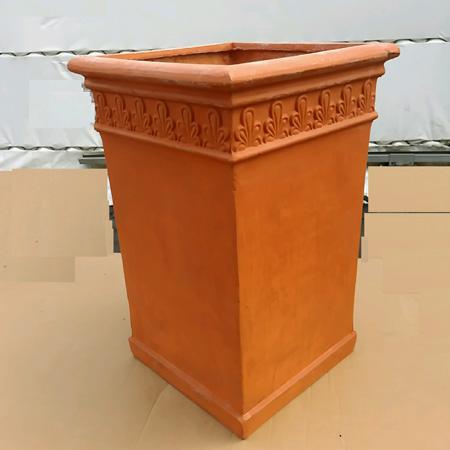 ファイバークレイSFP8050-60T1(カラー:テラコッタ)【テラコッタイングリッシュガーデン植木鉢プランターガーデニング】