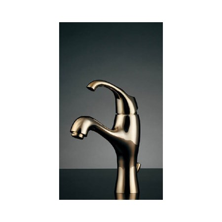 カクダイ シングルレバー混合栓ゴールド 183-110【カクダイ KAKUDAI 183-110 水道用品 混合栓 デザイン水栓】
