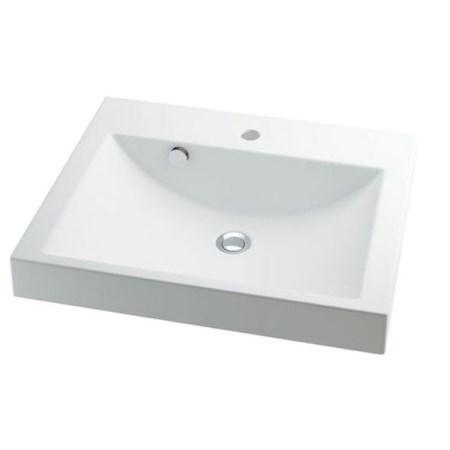 カクダイ 角型洗面器 493-072【カクダイ KAKUDAI 493-072 水道用品 洗面用部品 洗面器・手洗器】