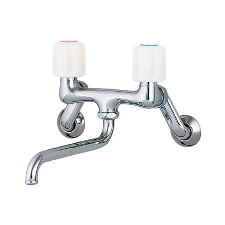 カクダイ 2ハンドル混合栓 1280SKK-170【カクダイ KAKUDAI 1280SKK-170 水道用品 混合栓 洗面用混合栓】