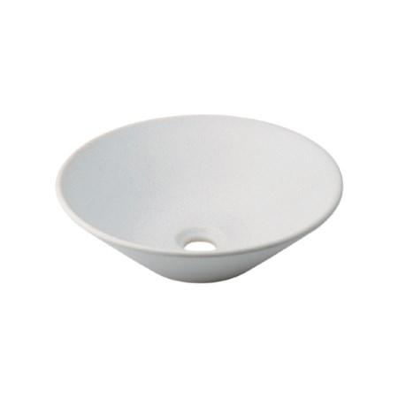 カクダイ 丸型手洗器月白 493-037-W【カクダイ KAKUDAI 493-037-W 水道用品 洗面用部品 洗面器・手洗器】