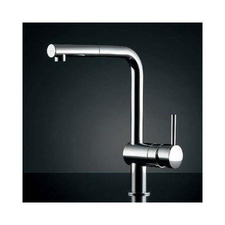 カクダイ シングルレバー引出し混合栓 #GR-3216800J【カクダイ KAKUDAI #GR-3216800J 水道用品 混合栓 欧州デザイン水栓】