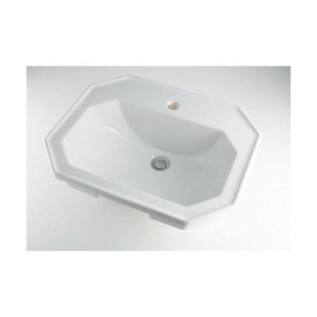 カクダイ 角型洗面器1ホール #DU-0476580000【カクダイ KAKUDAI #DU-0476580000 水道用品 洗面用部品 洗面器・手洗器】