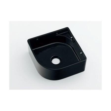 カクダイ 壁掛手洗器ブラック 493-048-D【カクダイ KAKUDAI 493-048-D 水道用品 洗面用部品 洗面器・手洗器】