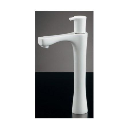 カクダイ 立水栓トール、コットンホワイト 716-867-13【カクダイ KAKUDAI 716-867-13 水道用品 混合栓 デザイン水栓】