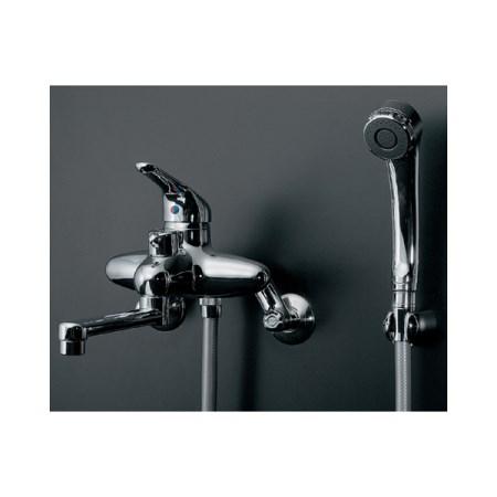 カクダイ シングルレバーシャワ混合栓 143-001【カクダイ KAKUDAI 143-001 水道用品 混合栓 デザイン水栓】