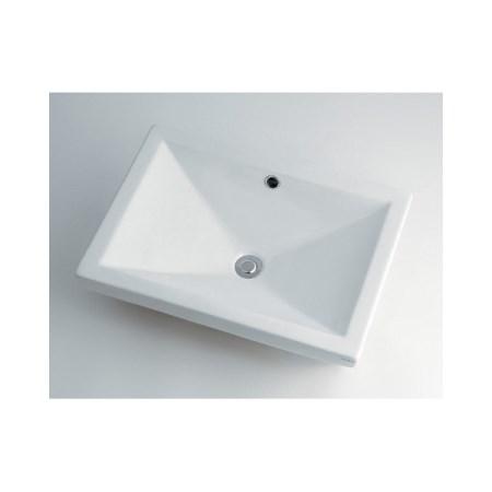 カクダイ 角型洗面器 493-002【カクダイ KAKUDAI 493-002 水道用品 洗面用部品 洗面器・手洗器】