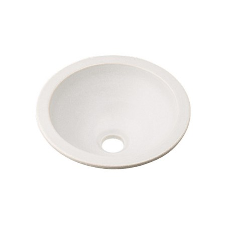 カクダイ 丸型手洗器月白 493-013-W【カクダイ KAKUDAI 493-013-W 水道用品 洗面用部品 洗面器・手洗器】