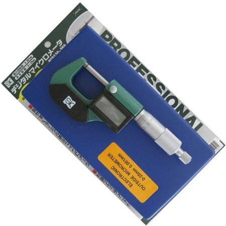 デジタルマイクロメータ MCD130-25D【DIY 工具 新潟精機 測定工具 精密測定工具 MCD130-25D】