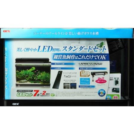 ラピレスRV60DT LEDセット【ジェックスアクア用品水槽】, カミスマチ:730f021e --- sunward.msk.ru